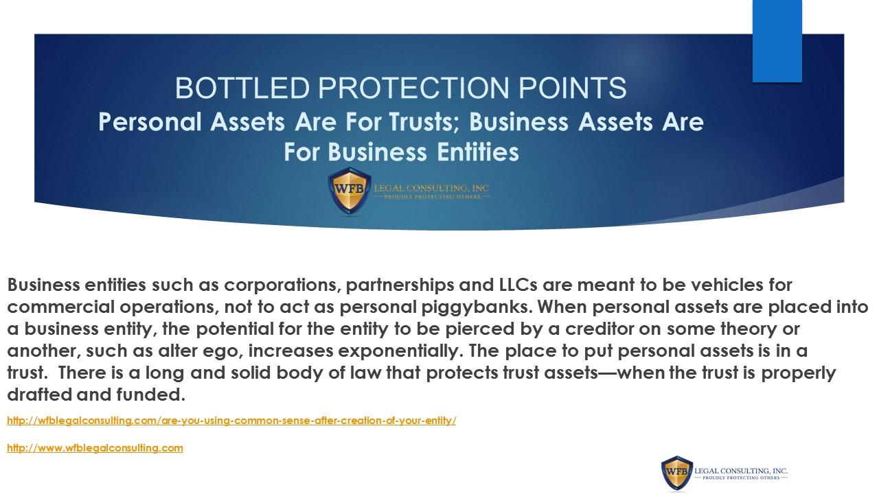 BOTTLED POTECTION POINTS--13-2